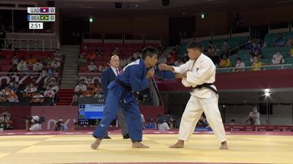 Eric Takabatake vence o primeiro adversário e avança nos jogos de Tóquio 2020