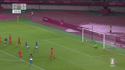 Os gols de Holanda 3 x 3 Brasil pelo futebol feminino nas Olimpíadas de Tóquio 2020