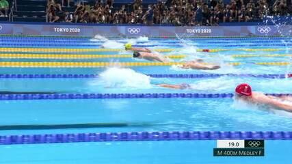 Chase Kalisz (EUA) vence a final dos 400m medley masculino
