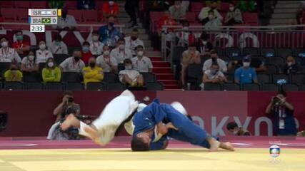 Brasileiro Daniel Cargnin conquista medalha de bronze no judô