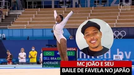 """MC João fala sobre o uso de """"Baile de Favela"""" na apresentação de Rebeca Andrade"""