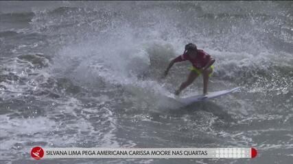 Silvana Lima, Gabriel Medina e Ítalo Ferreira se classificam para as quartas de final do surfe nas Olimpíadas
