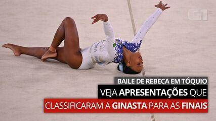 As apresentações que classificaram Rebeca Andrade para as finais da ginástica artística