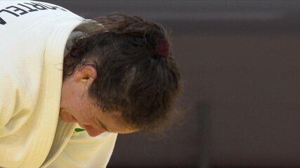 Maria Portela fica devastada pós ser eliminada no judô