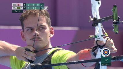 Marcus D'Almeida vence britânico e avança de fase no tiro com arco nas Olimpíadas de Tóquio