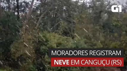 Snow falls in Gangusu in the southern part of the RSS