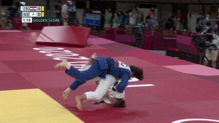 Madina Taimazova conquista a medalha de bronze para o Comitê Olímpico Russo