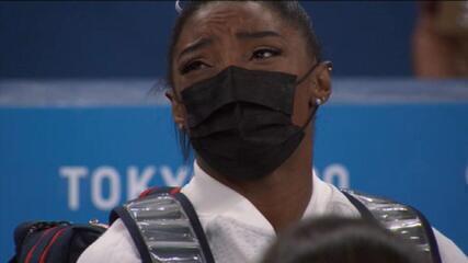 Olimpíadas: Simone Biles desiste de participar da final individual geral