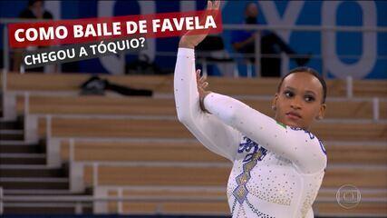 Como 'Baile de Favela' foi parar nas Olimpíadas de Tóquio com Rebeca Andrade