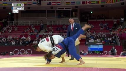Respeita ela! Mayra Aguiar consegue Ippon e avança no judô até 78kg
