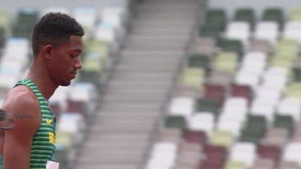 Fernando Ferreira não passa de 2,25m e se despede da disputa de salto em altura