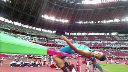 Thiago Moura também não consegue superar 2,25m e está fora do salto em altura