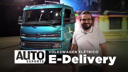 Volkswagen e-Delivery é o caminhão elétrico com preço de Porsche