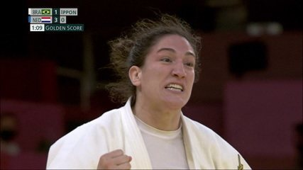O pulso ainda pulsa! Mayra Aguiar consegue Ippon espetacular e mantém Brasil vivo no confronto