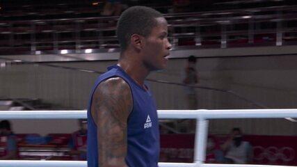 Melhores Momentos: Wanderson de Oliveira vence bielorrusso e vai às quartas no boxe - Olimpíadas de Tóquio