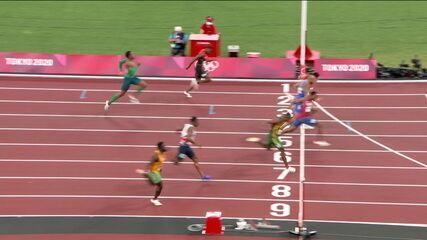 Paulo André é oitavo na semifinal 3 dos 100m rasos masculino - Olimpíadas de Tóquio