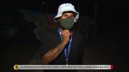 Da prancha de isopor ao ouro: campeão olímpico, Ítalo Ferreira volta a Baía Formosa-RN