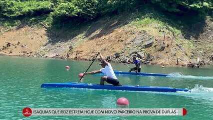 Isaquias Queiroz estreia hoje com novo parceiro na prova de duplas