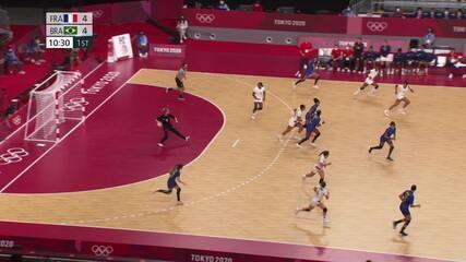 Melhores Momentos: Brasil 22 X 29 França pelo handebol feminino - Olimpíadas de Tóquio