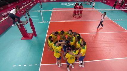Melhores momentos: Brasil bate o Japão e vai à semifinal no vôlei masculino - Olimpíadas de Tóquio