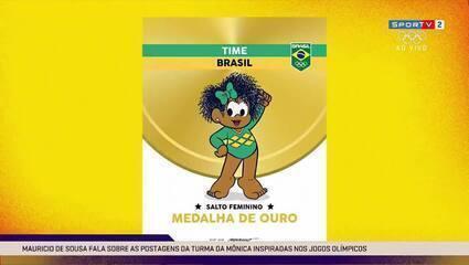 Maurício de Sousa fala da relação entre a Turma da Mônica e as Olimpíadas