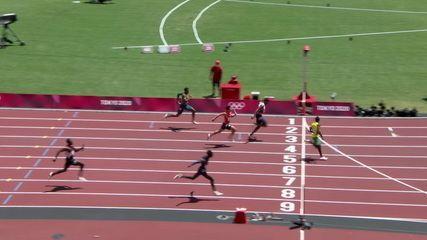 Brasileiros do revezamento 4x100 terminam bateria em quinto - Olimpíadas de Tóquio