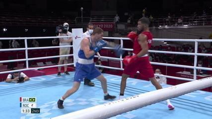 Melhores Momentos da vitória de Hebert Souza na semifinal do Boxe