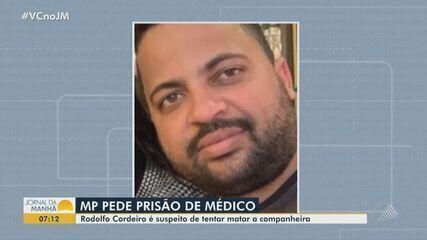 TJ-BA aceita denúncia contra médico suspeito de tentar matar a companheira em Salvador