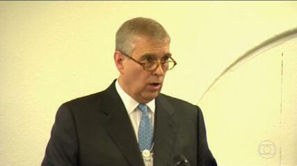 Príncipe Andrew é processado nos EUA por abuso sexual