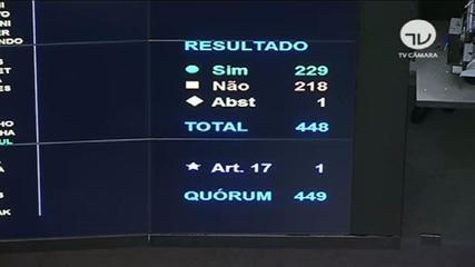 Em derrota para Bolsonaro, Câmara rejeita e arquiva PEC do voto impresso