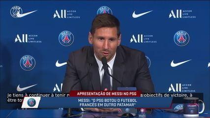 """Messi fala sobre torcedores do Barcelona e possiblidade de enfrentar o time: """"Vai ser estranho"""""""