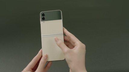 Samsung Galaxy Z Flip 3: veja como é o smart