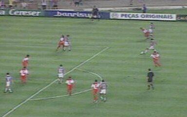 Em 1999, melhores momentos de Fluminense 1 x 0 Dom Pedro-DF, pela 3ª divisão do Brasileiro