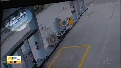 Vídeo mostra momentos antes de acidente na Avenida Durval de Góes Monteiro