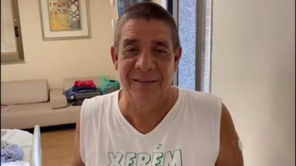 VÍDEO: 'O importante é se vacinar', diz Zeca Pagodinho durante recuperação da Covid