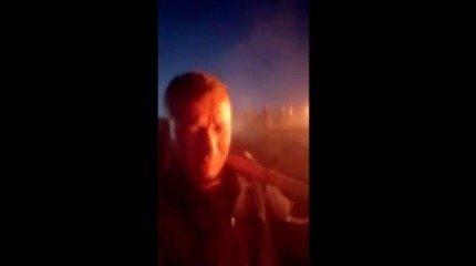GCM chora ao relatar socorro de animais durante incêndio no Parque Juquery, em SP