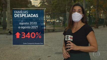 Número de famílias despejadas de casa cresce 340% na pandemia