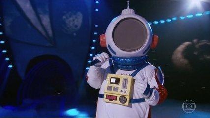l'astronauta canta