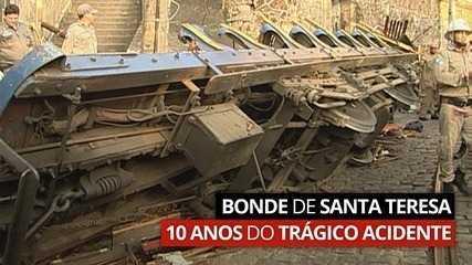 VÍDEO: Como foi o acidente do bonde de Santa Teresa e o que os moradores reivindicam hoje