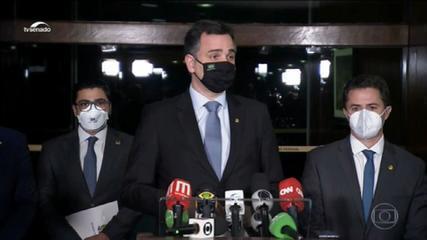 Pacheco impõe derrota a Bolsonaro e rejeita pedido de impeachment de Moraes