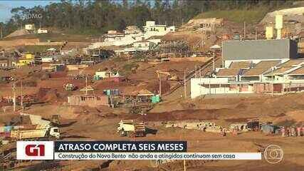 Construção do Novo Bento não anda e atingidos continuam sem casa
