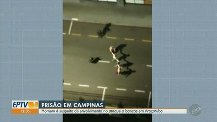 Suspeito de envolvimento em ataque a bancos em Araçatuba é preso em Campinas