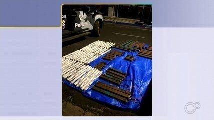 Gate localiza 97 explosivos espalhados por criminosos durante mega-assalto em Araçatuba