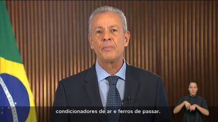 Ministro de Minas e Energia admite 'risco de falta' de luz no horário de pico