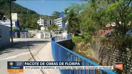 Pacote de obras em Florianópolis prevê túnel para conectar dois bairros