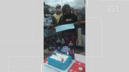 Moradores comemoram aniversário de 4 anos de fechamento de ponte em Nazaré das Farinhas