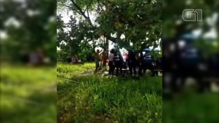Pessoas ficam feridas após queda de raio em Outeiro, distrito de Belém