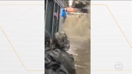 Tempestade Ida causa enchente histórica e mortes em Nova York