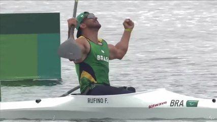 ¡Histórico!  ¡Fernando Rufino gana el primer oro brasileño en el juego de Paracano!