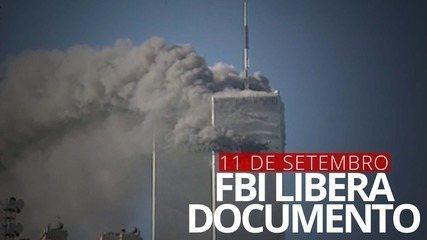 FBI libera 1º documento relacionado à investigação do 11 de Setembro